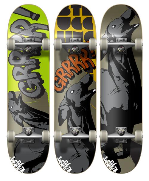 new deck by stuggling designer chris weston