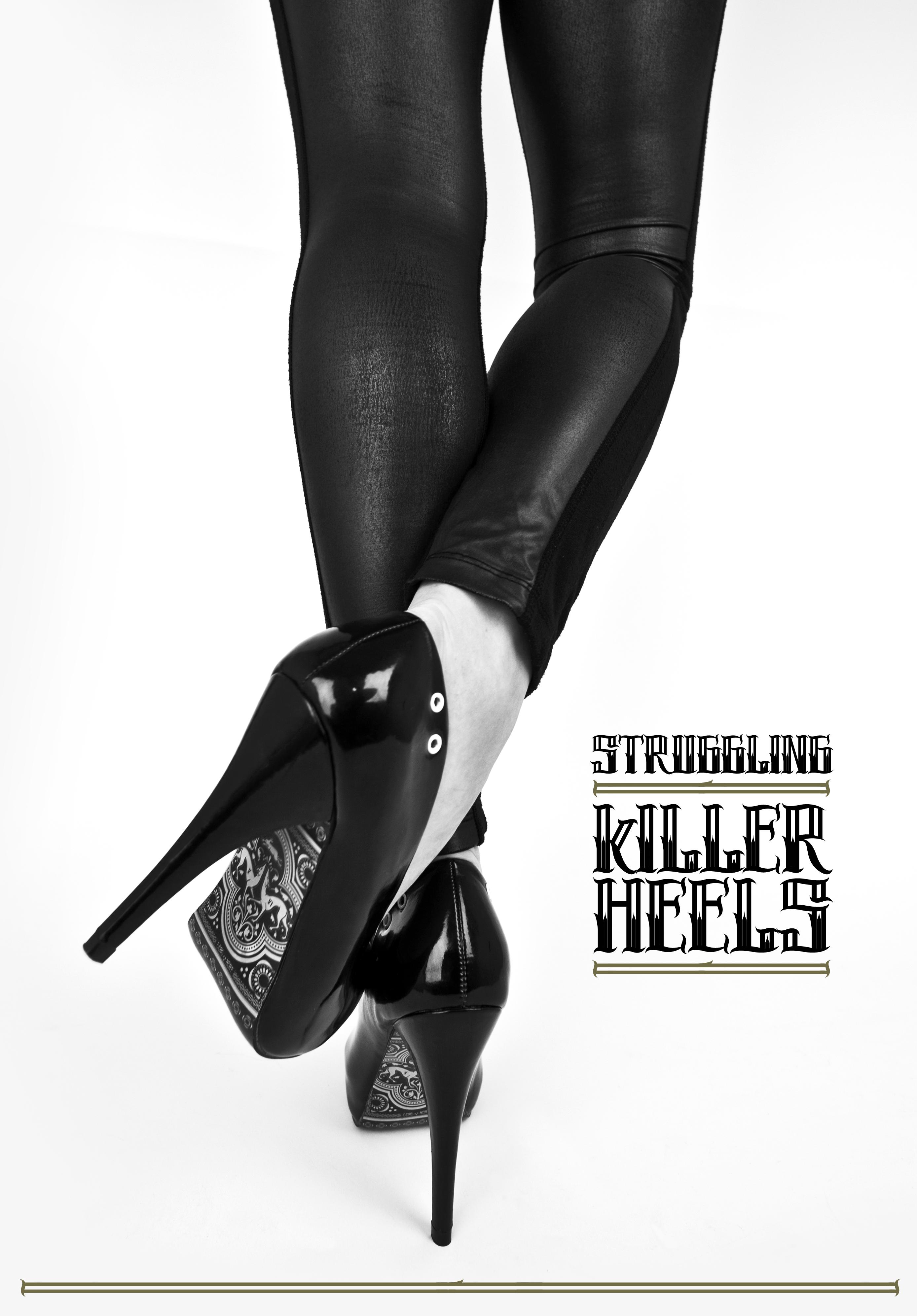 Black Killer Heels